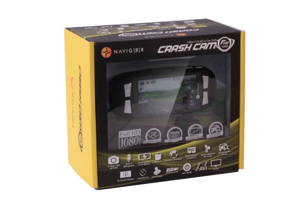 "Laser Navig8r Car Crash Camera FHD1080 2.7"" LCD TFT + SanDisk 32GB Exteme microSDHC Card"