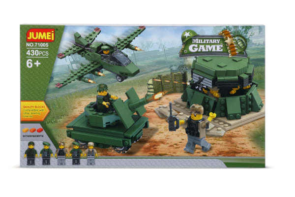 Jumei Building Blocks - Military Game (Lego Compatible)