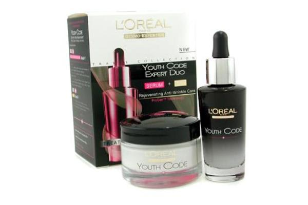 L'Oreal Dermo-Expertise Youth Code Expert Duo: Serum + Day (2pcs)