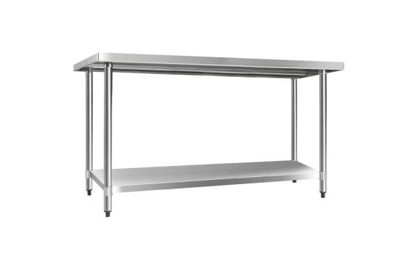 430 Stainless Steel Kitchen Work Bench Table 1524mm
