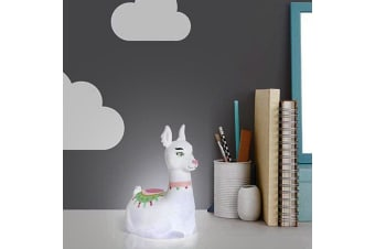 Kids Llama LED Lamp Night Light | Battery-Operated | Uber-Portable!