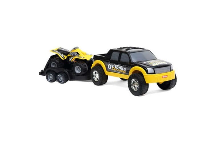 Tonka 4 x 4 Off Road Hauler with ATV