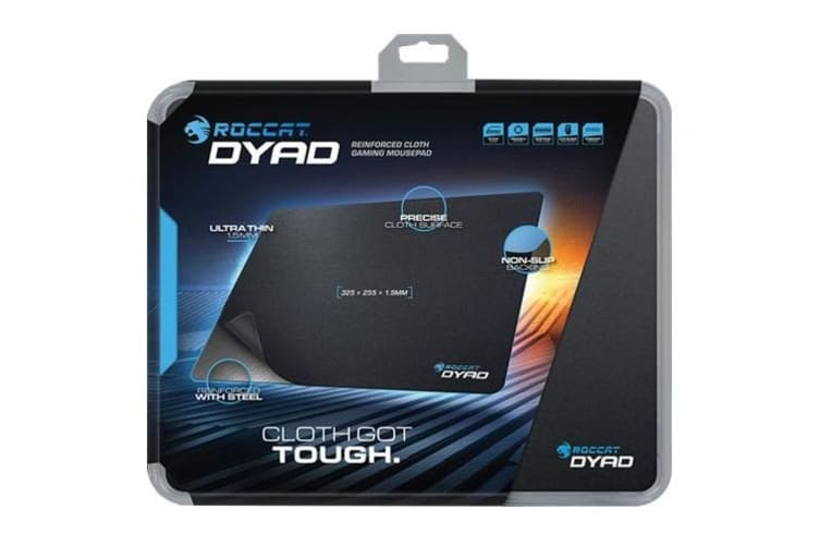 ROCCAT Dyad Black Gaming mouse pad