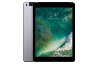 """[Good Condition - Pre Owned] Apple iPad 2017 9.7"""" WiFi + Cellular 32GB - Space Grey"""