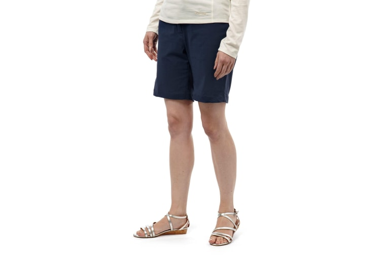Craghoppers Womens/Ladies NosiLIfe Fleurie II Shorts (Soft Navy) (10 UK)