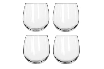 Libbey Vina Stemless Red Wine Set of 4 495ml