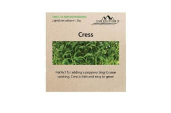 Perth Hills Veggie Co Microgreen Seeds Cress