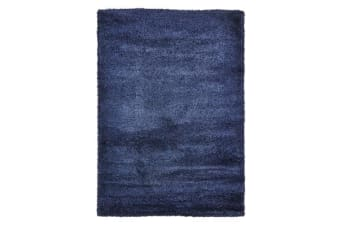 Ultra Thick Super Soft Shag Rug Denim 150x80cm