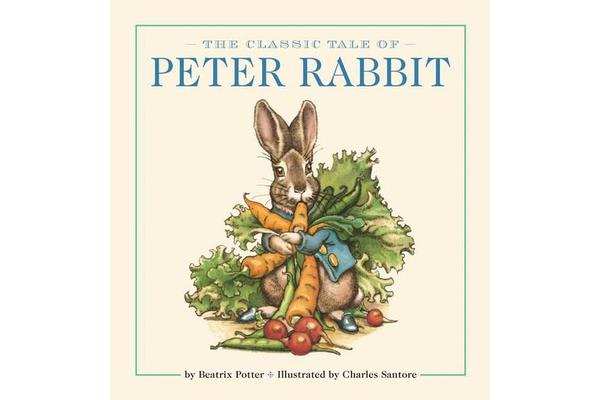 The Peter Rabbit Oversized Padded Board Book - The Classic Edition