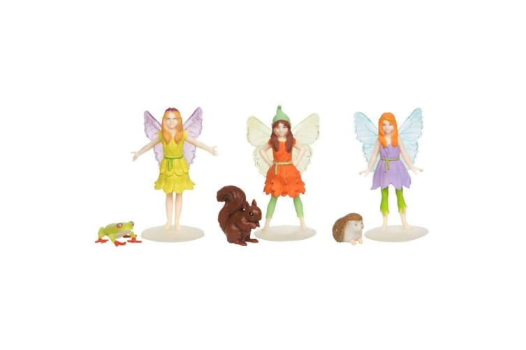 My Fairy Garden Fairies and Friends Figures - 3 pack