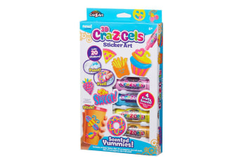 Cra-Z-Gels 3D Sticker Art Pack in Scented Yummies