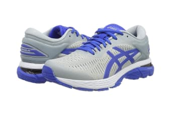 ASICS Women's Gel-Kayano 25 Lite-Show Running Shoe (Mid Grey/Illusion Blue Size 7.5)
