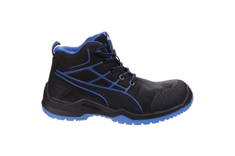 Puma Mens Krypton Lace Up Safety Boots (Blue) (7 UK)