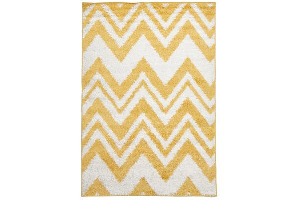 Chevy Shag Rug Yellow 230x160cm