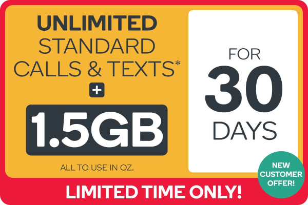 Kogan Mobile Prepaid Voucher Code: SMALL (30 Days   1.5GB) - NEW CUSTOMERS ONLY