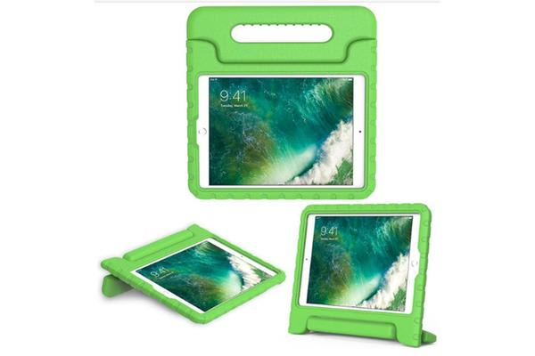 Education Soft handle iPad (2017 Model)  Case Protector For School Kids (Green)
