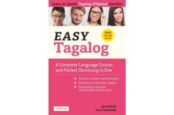 Easy Tagalog: Free Companion Online Audio - A Complete Language Course and Pocket Dictionary in One!