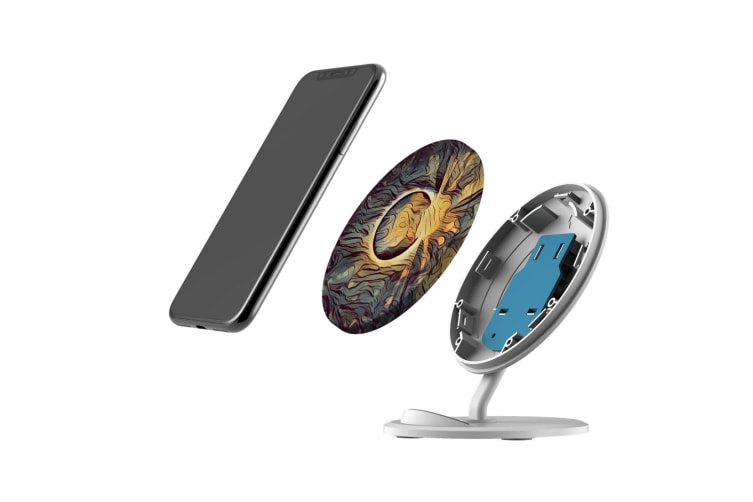 QI Wireless Charger For iPhone 11 Samsung Galaxy S20+ S20 Ultra S10+ Anonymous