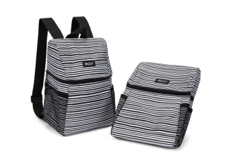 Packit Freezable Lifestyle Backpack Wobbly Stripes