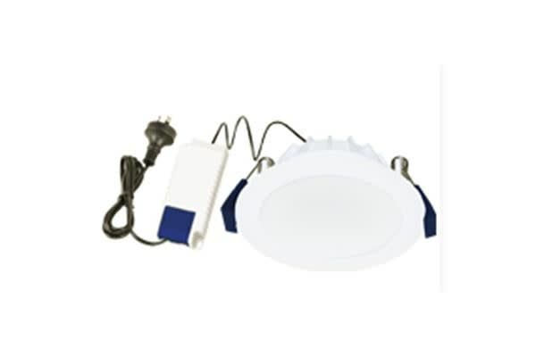 ENERGETIC 172065 Energetic Impulse Flush Downlight Cutout 90mm IP54 IC-4&IC-F DIM 11W 5000K 850Lm