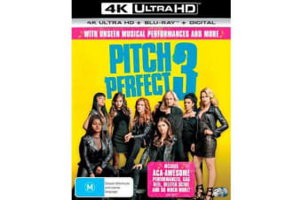 Pitch Perfect 3 (4K UHD/Blu-ray/Digital Copy)