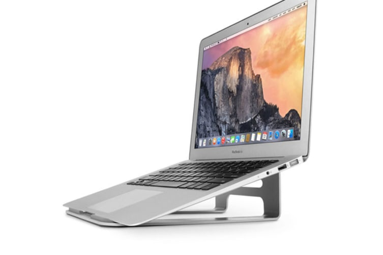 Aluminum Laptop Stand Compatible with MacBook Air/Pro 13 15, iPad Pro 12.9, Surface, Chromebook and 11 to 15-inch Laptops/Notebooks