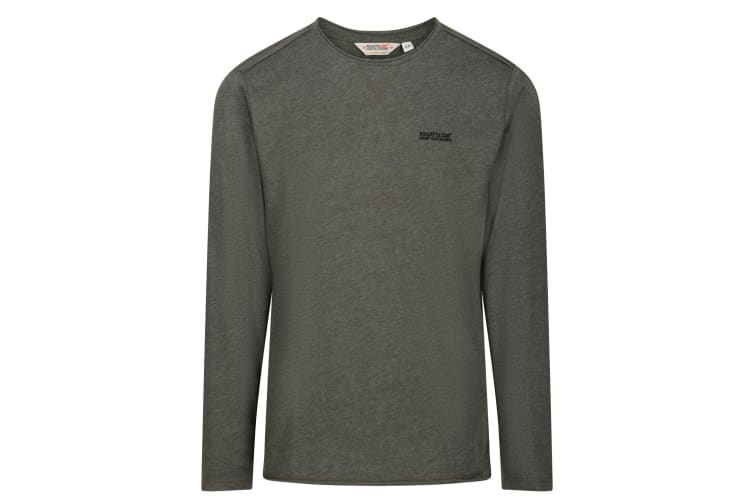 Regatta Mens Karter Long Sleeved T-Shirt (Bayleaf) (XL)