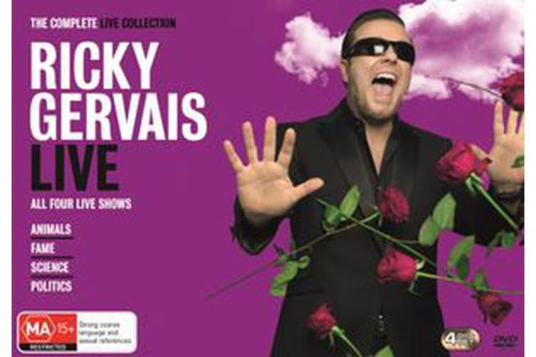 The Ricky Gervais Live Collection