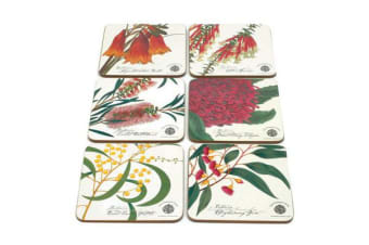 Maxwell & Williams Botanic Coasters Assorted Set of 6