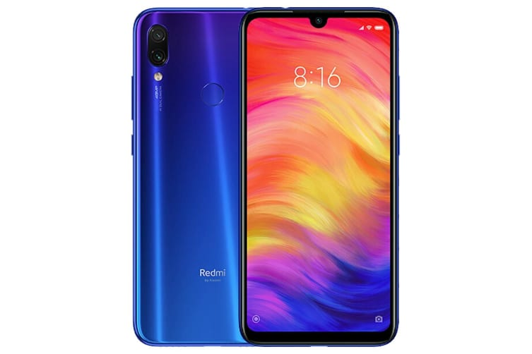 Xiaomi Redmi Note 7 4GB Ram 64GB Rom Dual Sim - Blue (EU Version)