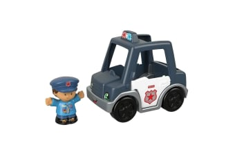 Little People Small Vehicle Police Car