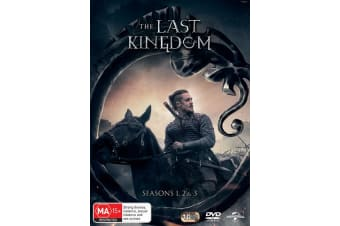 The Last Kingdom Seasons 1 2 & 3 Box Set DVD Region 4