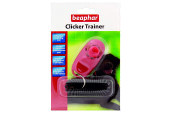 Beaphar Clicker Trainer (Pink) (One Size)