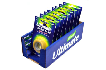 Ultratape Ultimate Very Easytear Clear Tape (8 pack) (Multicolour) (One Size)