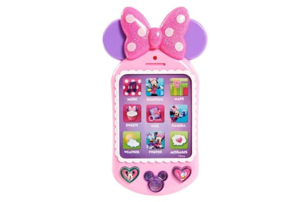 Minnie Mouse Bowtique Why Hello! Cell Phone Toy