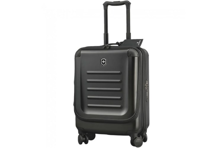 VICTORINOX TRAVEL SPECTRA 2.0 55CM DUAL ACCESS CARRY-ON BAG BLACK SAVE