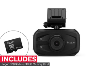 Kogan Full HD Dash Camera Video Recorder with 64GB Micro SD Card
