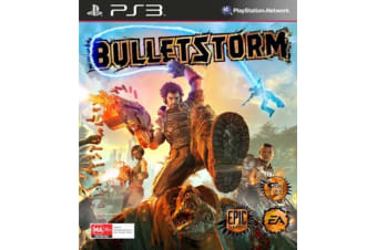 BULLETSTORM PS3 PlayStation 3 Game - Disc Like New