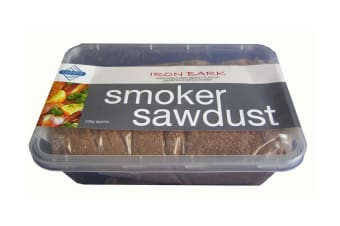 Australian Series Iron Bark Smoker Dust - 200gms - For a Deep Smokey Flavour