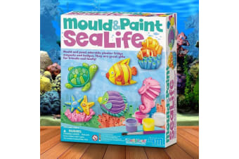 Mould And Paint Sea Life Kit