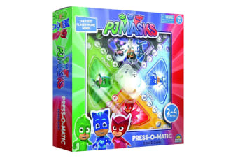PJ Masks Press O Matic Board Family Activity Fun Game Adult/Kids/Child Toys 3y+