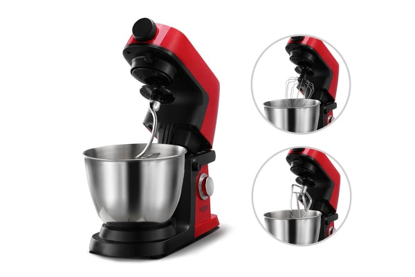 Kogan 1200W Deluxe Stand Mixer (Red)