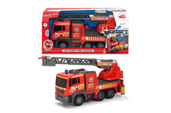 Dickie Toys Air Pump Fire Engine with Lights and Sounds