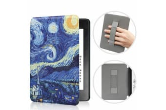 Leather Case Ultra Slim Magnetic Cover For Amazon All-new Kindle 10th Gen 2019-NO6 Pattern