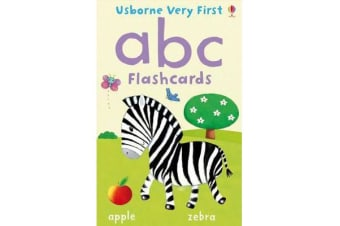 Very First Flashcards - ABC