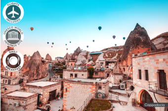 TURKEY: 13 Day Highlights of Turkey Tour Including Flights for One or Two