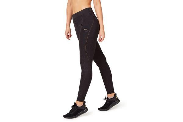 Puma Women's Explosive Avow Night Tight (Black Bronze, Size M)
