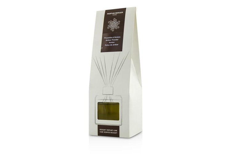 Lampe Berger Cube Scented Bouquet - Amber Powder 125ml