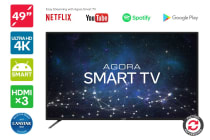 "Refurbished Kogan 49"" Agora Smart 4K LED TV (Series 8 KU8000)"