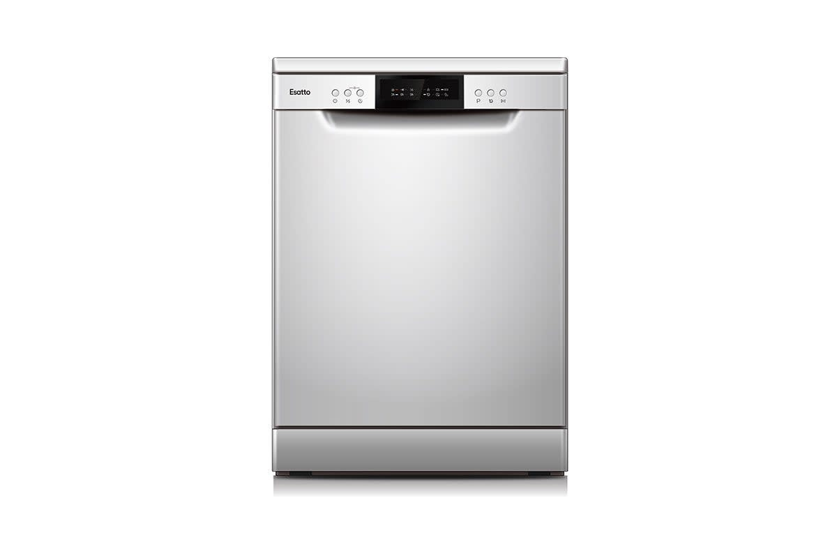 Esatto 60cm Freestanding Dishwasher - Silver